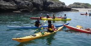 team building kayak à belle-ile